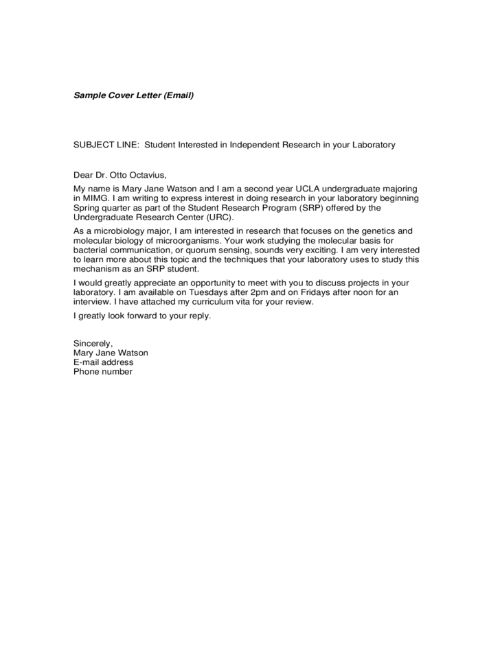 free example of email cover letter and email resume free resume - Cover Letter Email Example
