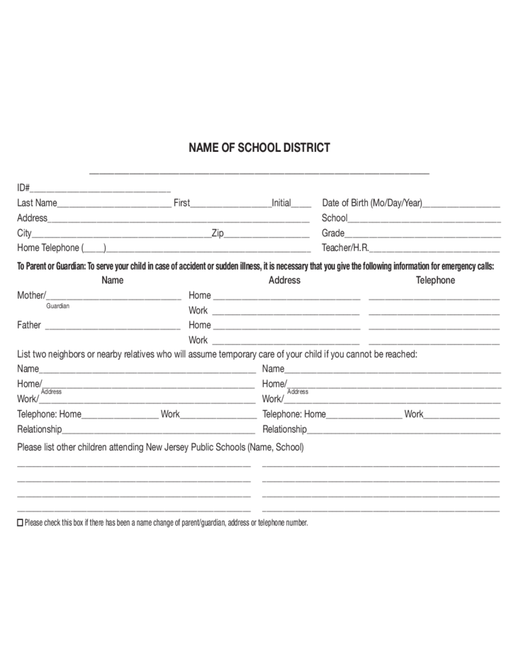 Nj Family Care Renewal Application Form - Image Mag