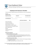 Employee Exit Clearance Checklist Form - Texas Southmost College Free Download
