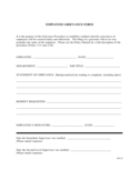 Employee Grievance Form - Utah Free Download