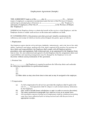 Employment Contract Form - Ontario Free Download