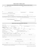 Sample Employment Verification Form Free Download