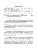 Equipment Bill of Sale - Delaware Free Download