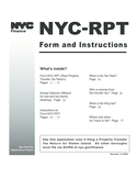 Real Property Transfer Tax Return - New York City