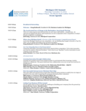 Event agenda - Business Leaders for Michigan Free Download