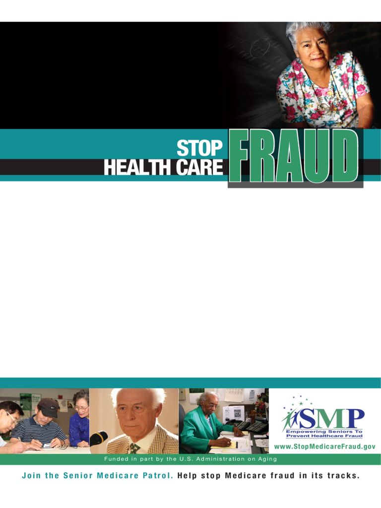 Stop Health Care Fraud Event Flyer Template