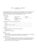 Event Planning Checklist Form - Massachusetts Free Download