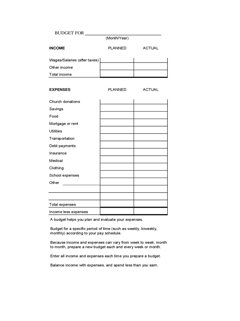 family budget template 5 free templates in pdf word excel download