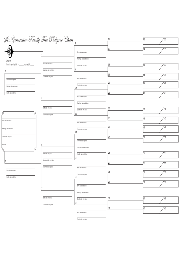 Family Tree Template - 8 Free Templates in PDF, Word ...