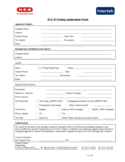 H-E-B Testing Application Form Free Download