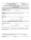 Form FDA 3649 - Accidental Radiation Occurrence Report
