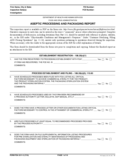 Form FDA 3511-3 - Aseptic Processing and Packaging Report
