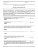 Form FDA 3511 - FDA LACF Inspection Report