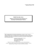Form FDA 3630 - Guide for Preparing Product Reports on Sunlamps