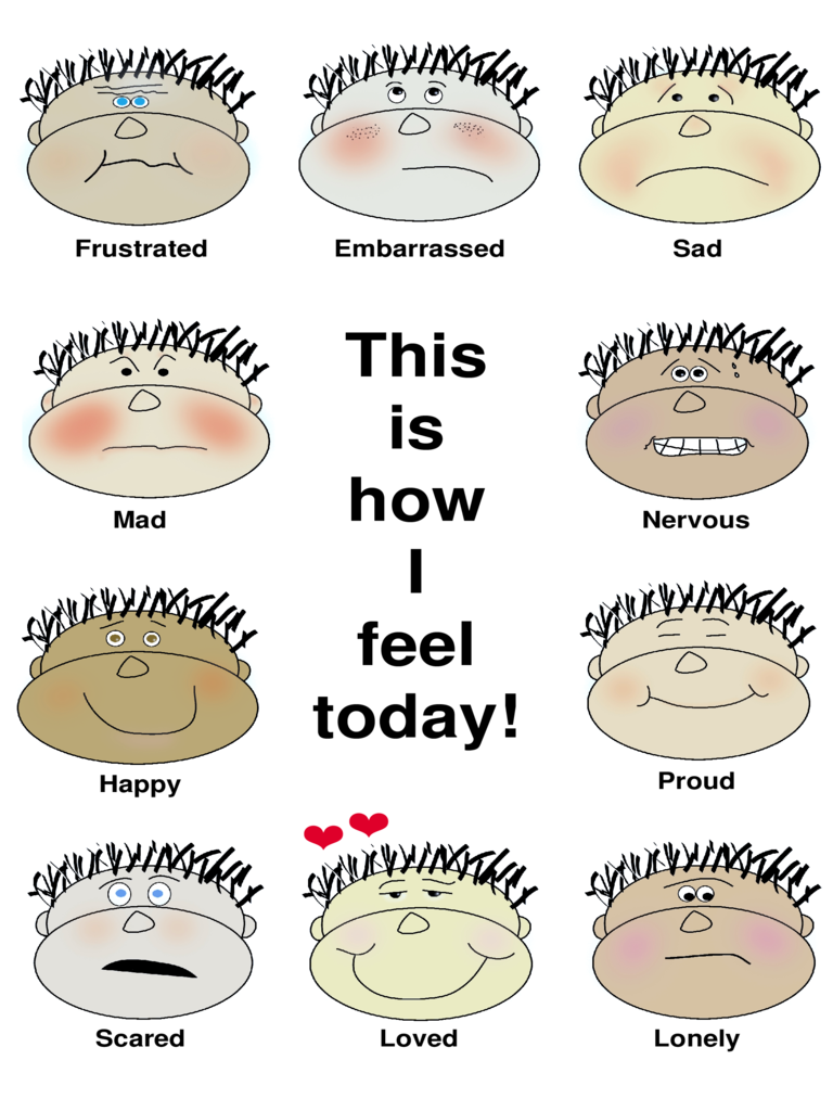 feelings chart 4 free templates in pdf word excel download