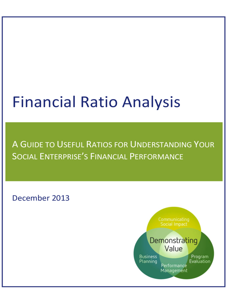 example of a financial ratio analysis