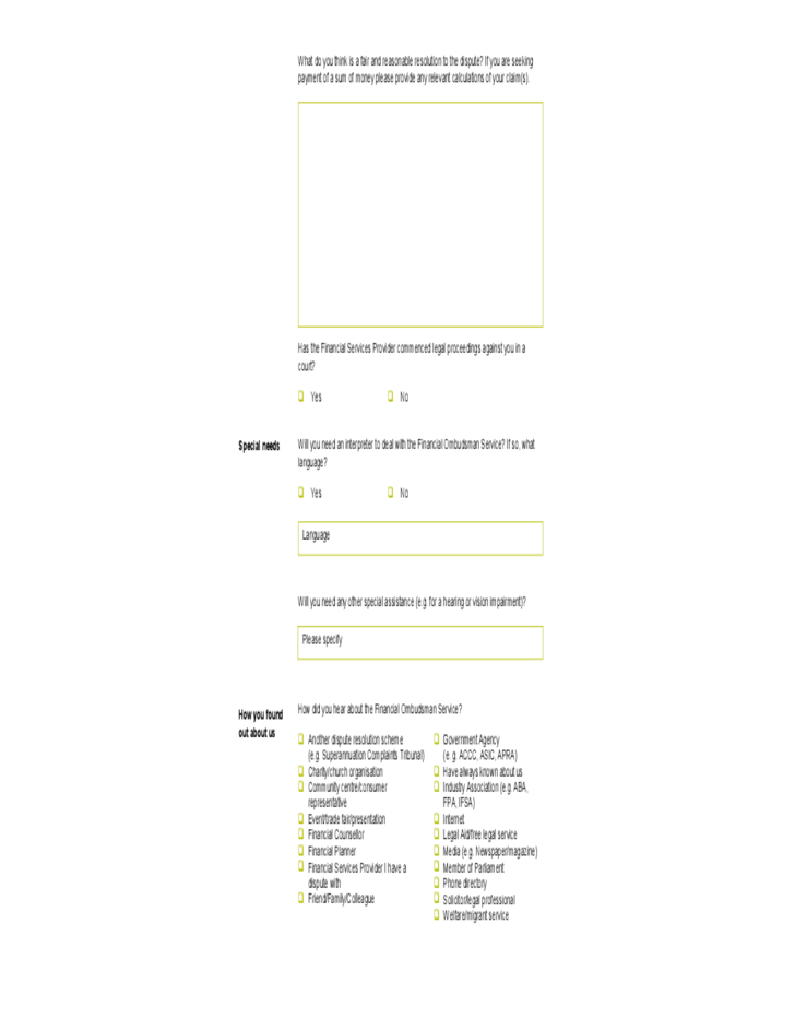 financial ombudsman letter template - 28 images - rbs ppi ...