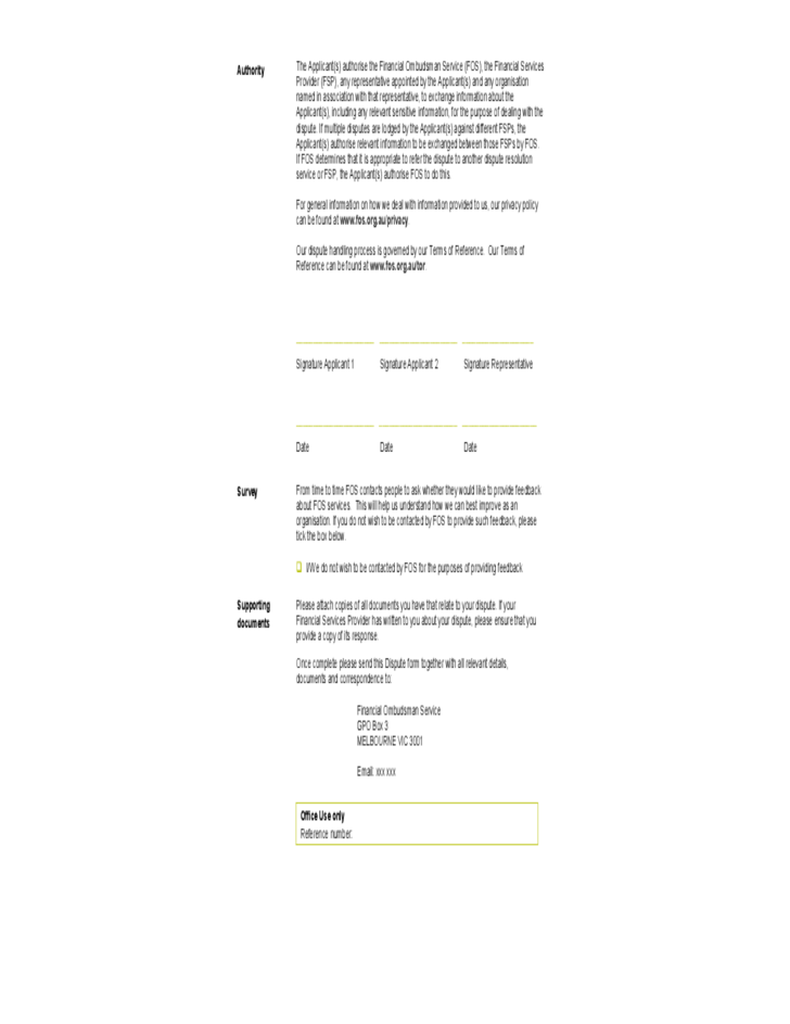 sample banking ombudsman complaint form - yourway.tk