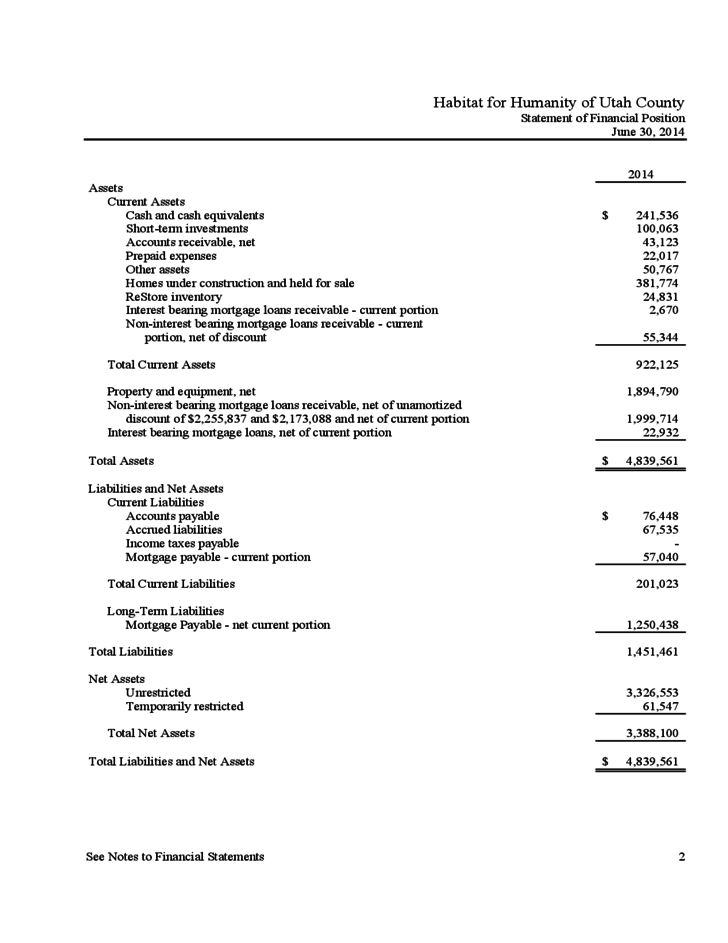 Financial Statement Template  Financial Report Template Free
