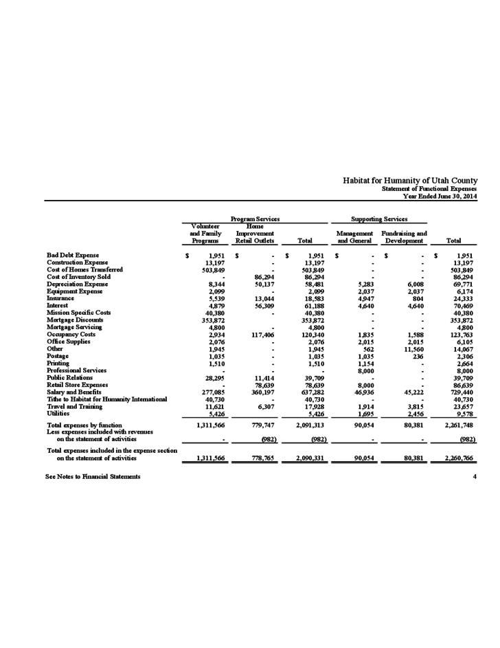 Non Profit Financial Report Template from www.formsbirds.com