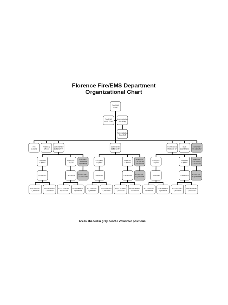 Fire Department Organizational Chart - 15 Free Templates in PDF, Word ...