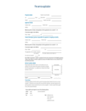 Fire service application sample form Free Download