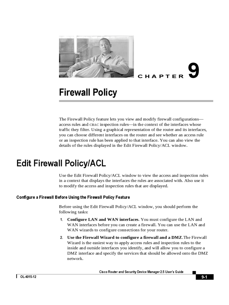 firewall policy sample