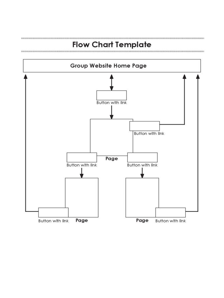 Simple Flow Chart Template