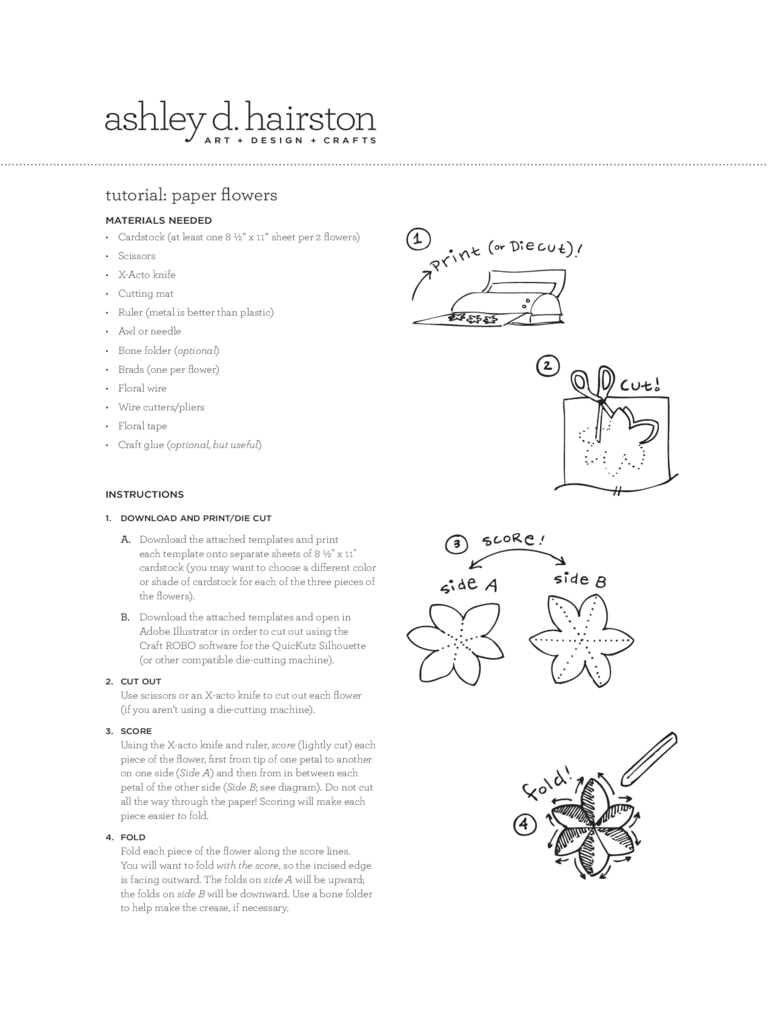 Flower Template 7 Free Templates In Pdf Word Excel Download