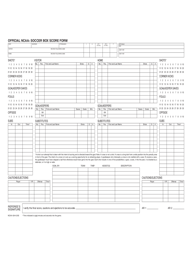 football score sheet Football Score Sheet - 3 Free Templates in PDF, Word, Excel Download