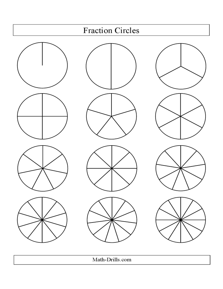 how to draw a diagram fractions divided