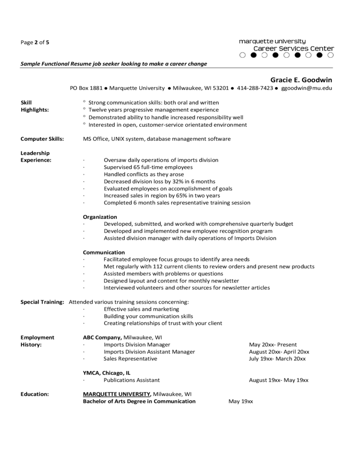 experienced it professional resumes