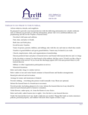 Funeral Checklist Form Free Download