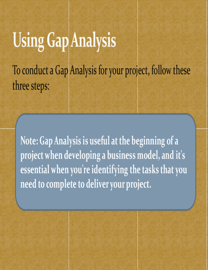 How to Write a Gap Analysis Report