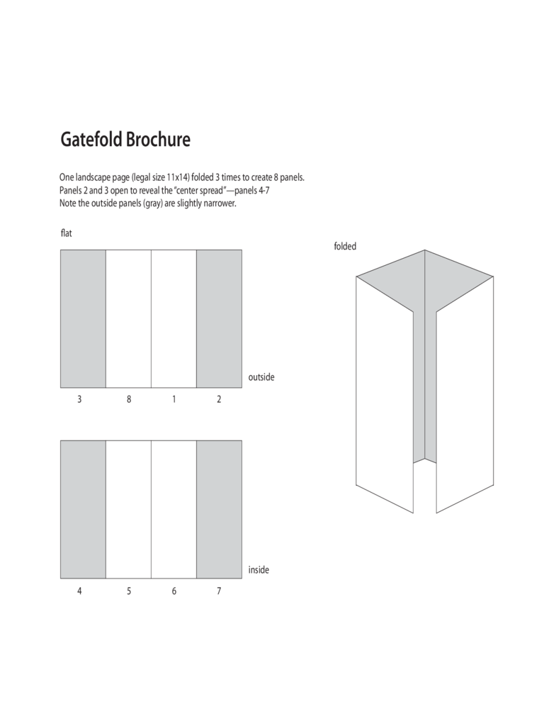 gate fold brochure template 6 free templates in pdf word excel