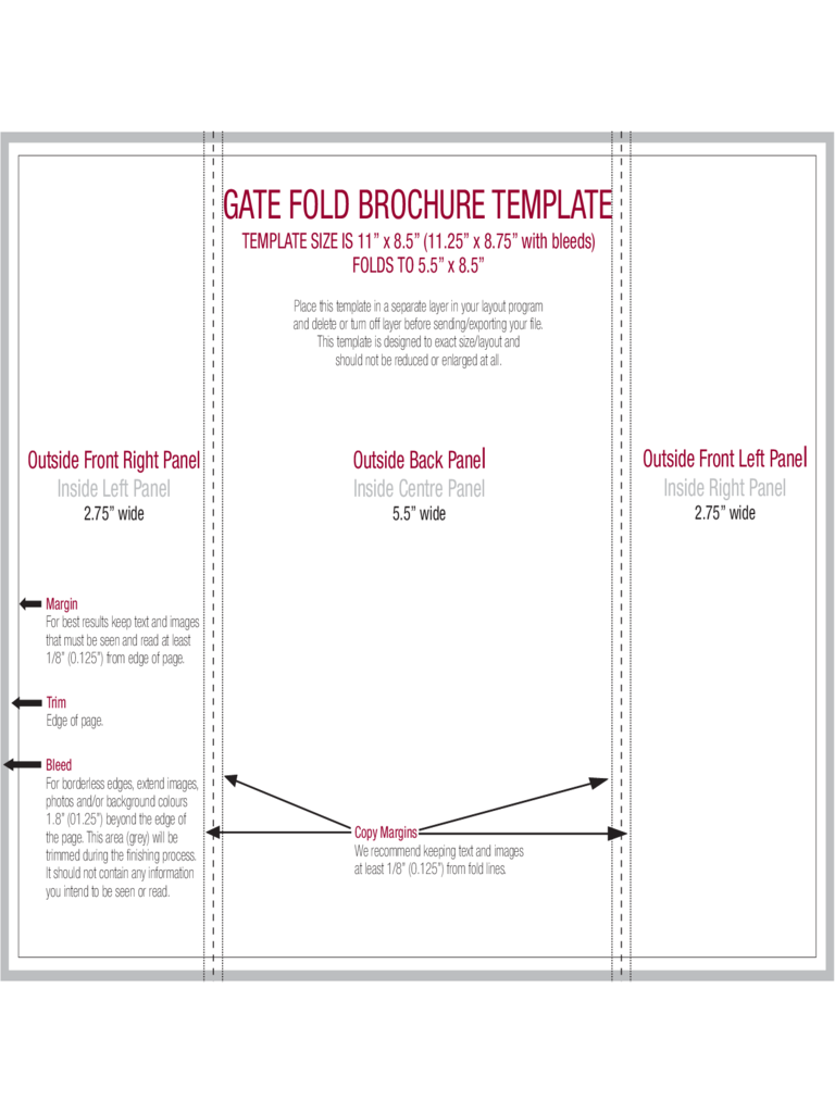 Gate fold brochure template 6 free templates in pdf for Folding brochure template free