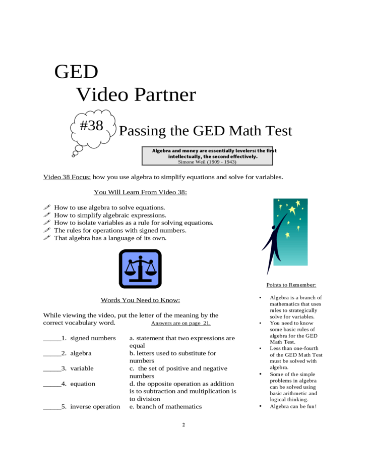 Ged test dates