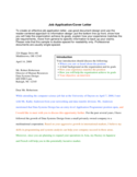 Application Letter Sample Form Free Download