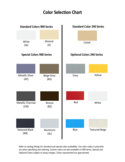General Color Selection Chart Free Download