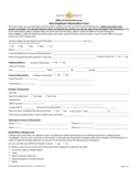General Employee Information Form - Carolina Free Download