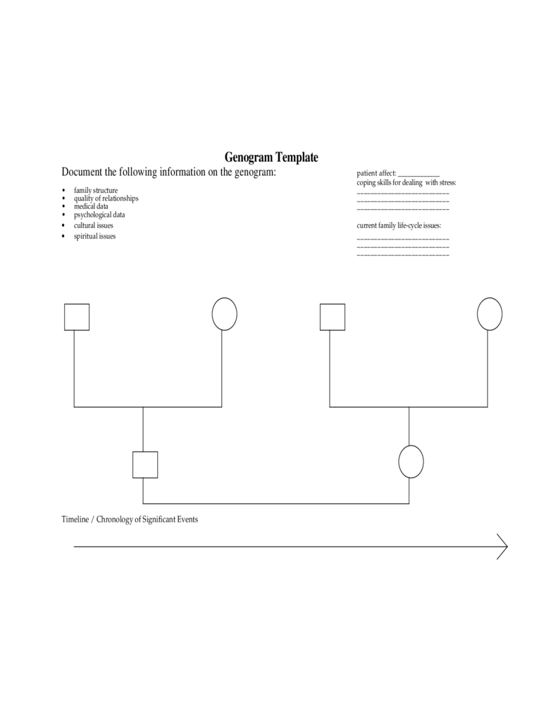 Genogram template 7 free templates in pdf word excel for Genograms templates