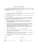 Goods Sale Contract Form - Georgia Free Download