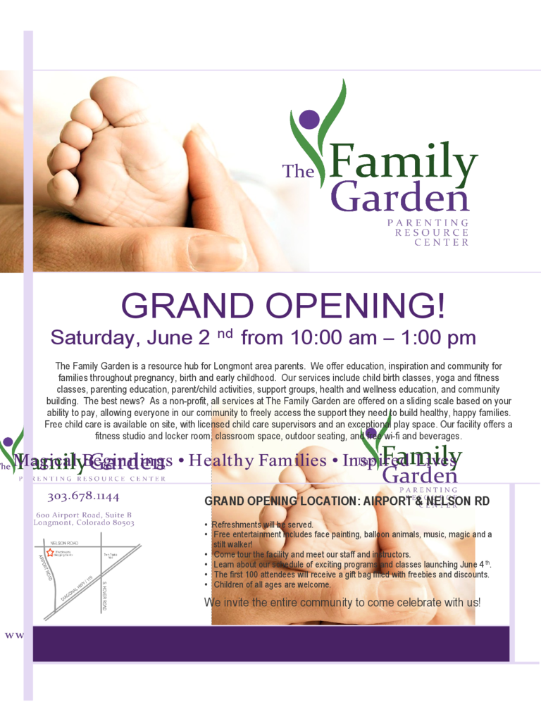 Grand Opening Flyer Template Sample