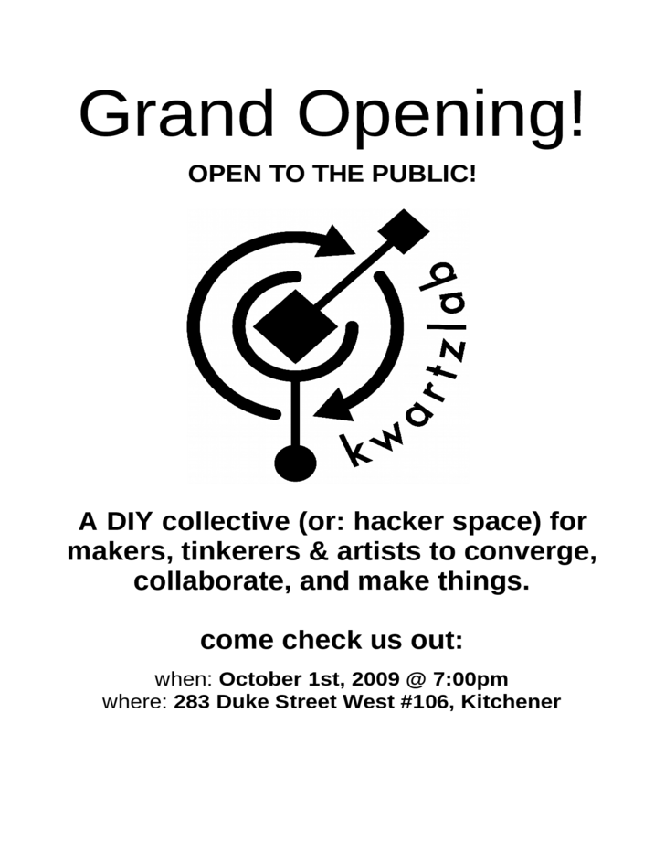 Grand Opening Flyer Example