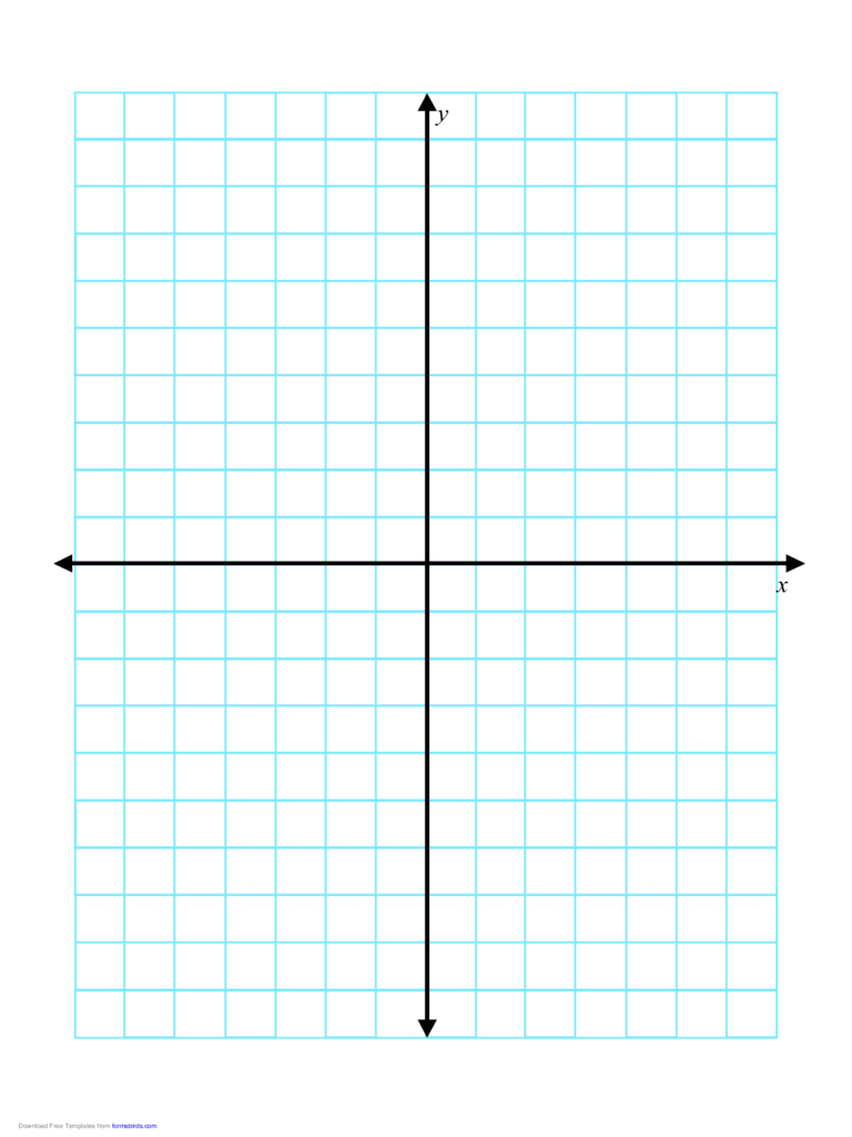 Axis Graph Paper 0.5 Inch