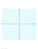 Numbered Four Quadrant Grid 30x30 Free Download