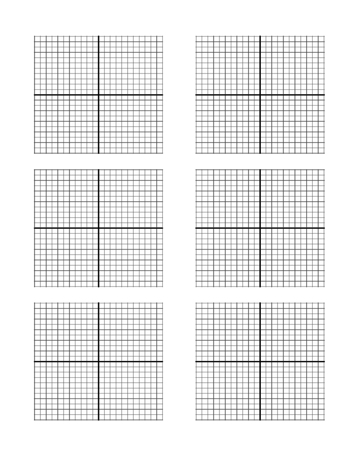 Axis Graph Paper Template Free Download