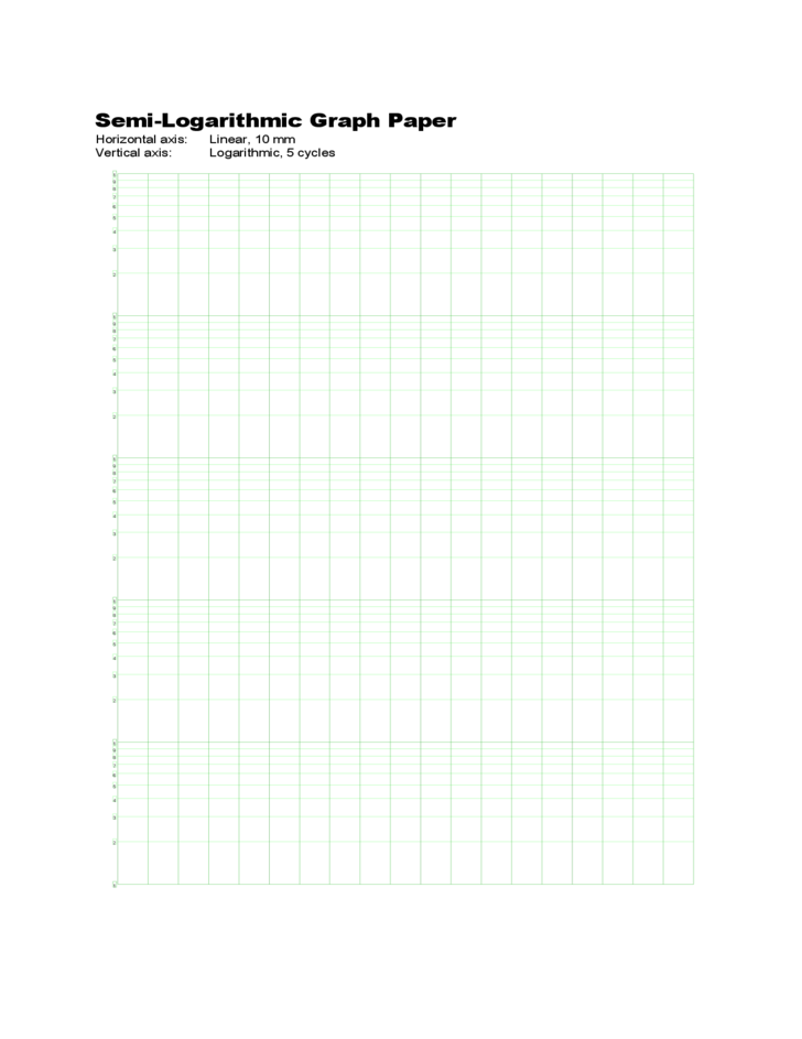 semi log graph paper pdf a4 size