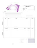 Sample Graphic Design Invoice Template Free Download