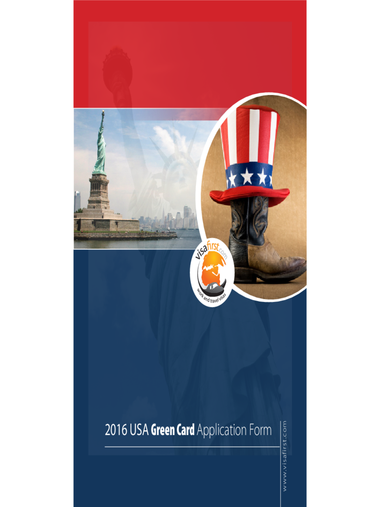 green card application form